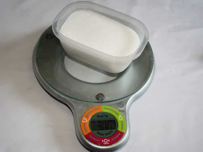Dosage de l'acide citrique pour le CO2 artisanal