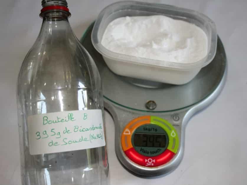Le Bicarbonate de soude dans la B