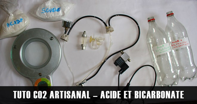 CO2 artisanal - Acide et Bicarbonate