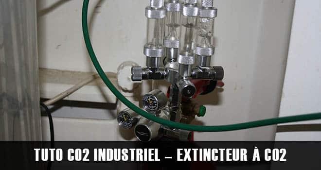 CO2 Industriel pour aquarium - Extincteur