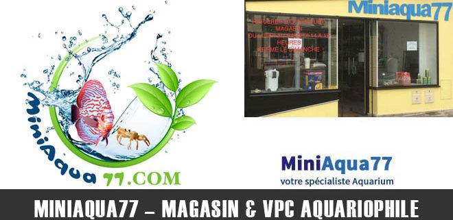 Miniaqua77 - Magasin & VPC Aquariophile