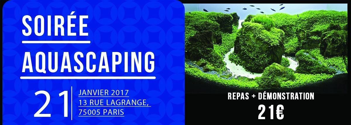 Cover - Soirée aquascaping