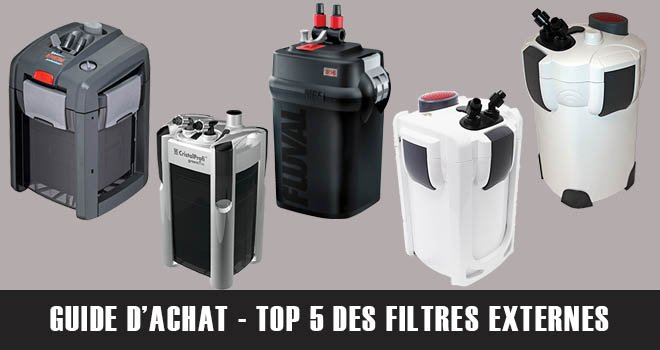 Top 5 des meilleurs filtres externes pour bacs de 200L