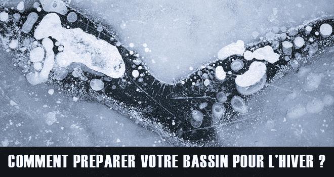 Préparer son bassin pour l'hiver